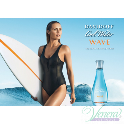 Davidoff Cool Water Woman Wave EDT 100ml pentru Femei produs fără ambalaj Produse fără ambalaj