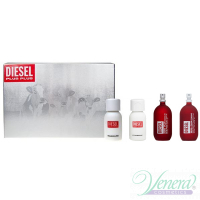 Diesel Deluxe Collection Set (Zero Plus Feminine 30ml + Zero Plus Masculine 30ml + Plus Plus Feminine 30ml + Plus Plus Masculine 30ml) pentru Bărbați și Femei Seturi
