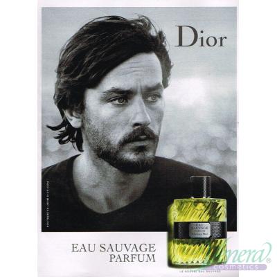Dior Eau Sauvage Parfum 2017 EDP 100ml pentru Bărbați fără de ambalaj Men's Fragrances without package