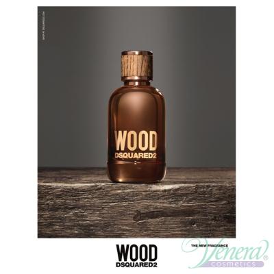 Dsquared2 Wood for Him Set (EDT 50ml + AS Balm 50ml + SG 50ml) pentru Bărbați Seturi