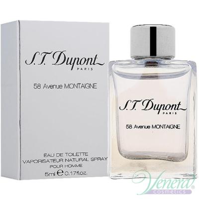 S.T. Dupont 58 Avenue Montaigne EDT 5ml pentru Bărbați