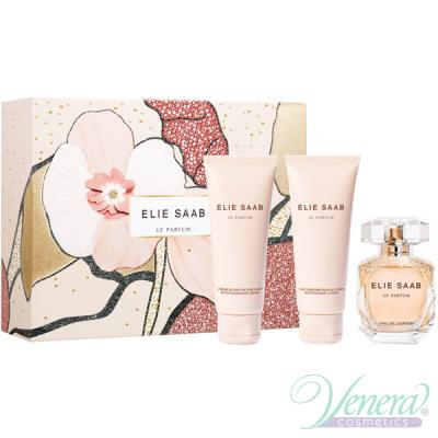 Elie Saab Le Parfum Set (EDP 50ml + BL 75ml + SG 75ml) for Women Sets