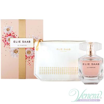 Elie Saab Le Parfum Set (EDP 50ml + Pouch) pentru Femei Women's Gift Sets
