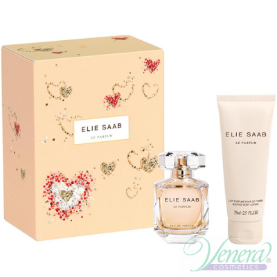 Elie Saab Le Parfum Set (EDP 30ml + BL 75ml) pentru Femei Women's Gift sets