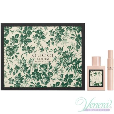Gucci Bloom Acqua di Fiori Set (EDT 50ml + EDT 7.4ml) pentru Femei Seturi