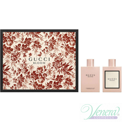 Gucci Bloom Set (EDP 50ml + BL 100ml) for Women Women's Gift sets