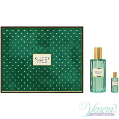 Gucci Mémoire d'une Odeur Set (EDP 60ml + EDP 5ml) pentru Bărbați și Femei