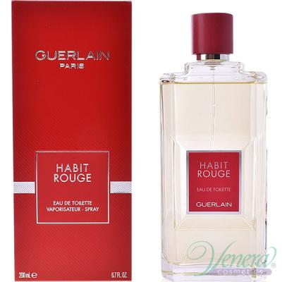 Guerlain Habit Rouge EDT 100ml pentru Bărbați Parfumuri pentru Bărbați