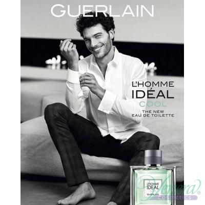 Guerlain L'Homme Ideal Cool EDT 100ml pentru Bărbați fără de ambalaj Products without package