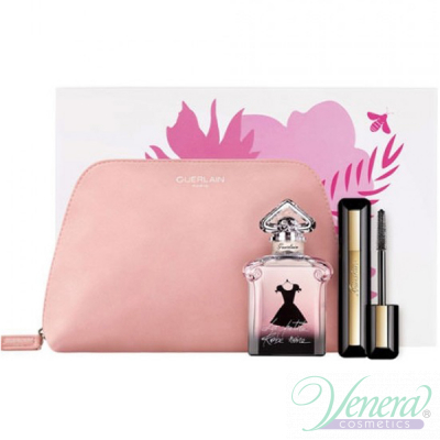 Guerlain La Petite Robe Noire Set (EDP 50ml + Mascara intensive Volume 8.5ml + Bag) pentru Femei