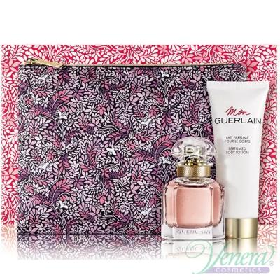Guerlain Mon Guerlain Set (EDP 30ml + BL 75ml + Bag) pentru Femei Women's Gift Sets