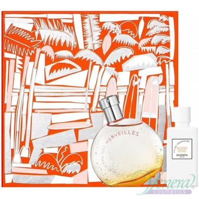 Hermes Eau Des Merveilles Set (EDT 50ml + BL 40ml) pentru Femei