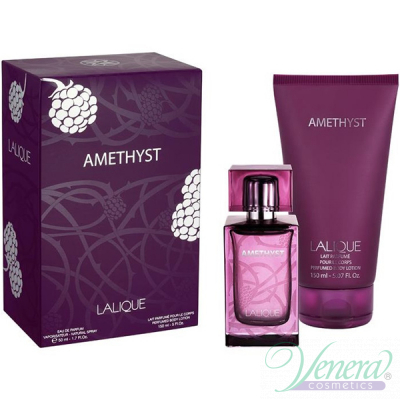 Lalique Amethyst Set (EDP 100ml + Mirror) for Women Sets