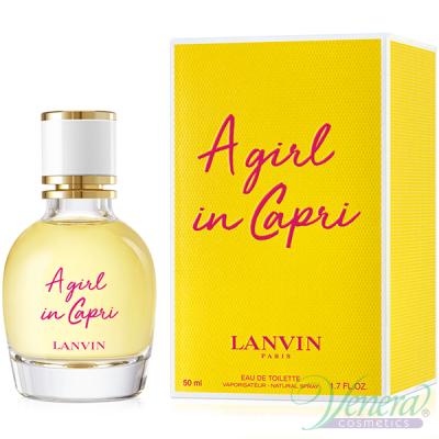 Lanvin A Girl In Capri EDT 50ml pentru Femei Parfumuri pentru Femei