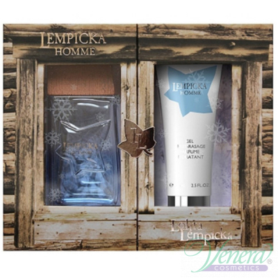 Lolita Lempicka Lempicka Homme Set (EDT 100ml + After Shave Gel 75ml) pentru Bărbați