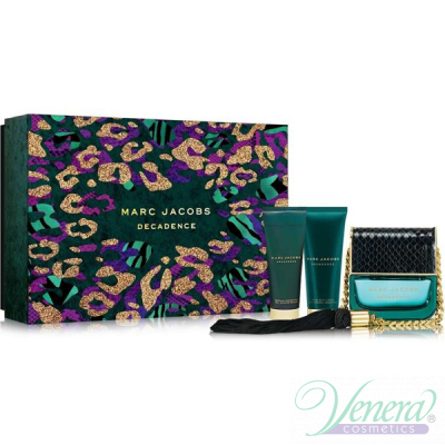 Marc Jacobs Decadence Set (EDP 100ml + BL 75ml + SG 75ml) pentru Femei Women's Gift sets