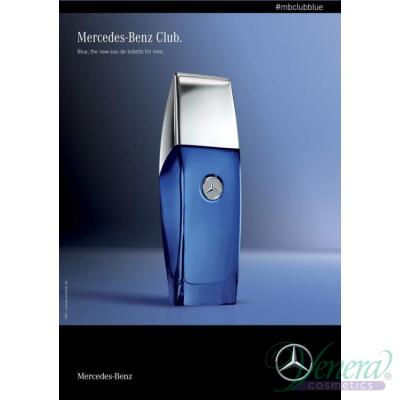 Mercedes-Benz Club Blue EDT 100ml pentru Bărbaț...
