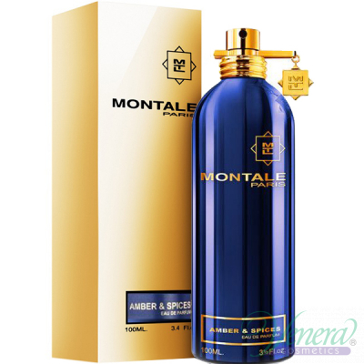 Montale Amber & Spices EDP 100ml for Men and Women Unisex Fragrances