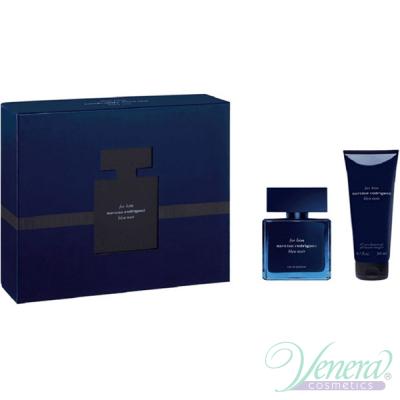 Narciso Rodriguez for Him Bleu Noir Eau de Parfum Set (EDP 50ml + SG 200ml) pentru Bărbați Seturi