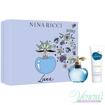 Nina Ricci Luna Set (EDT 50ml + BL 75ml) for Women Sets