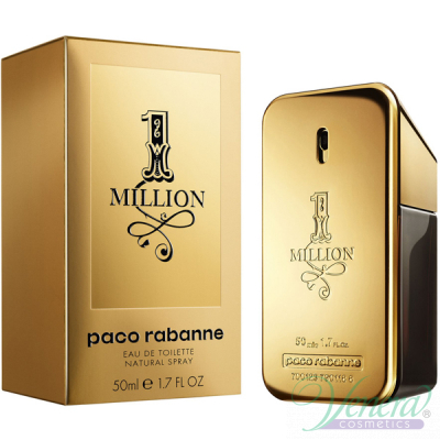Paco Rabanne 1 Million EDT 50ml for Men Men's Fragrance