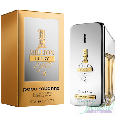 Paco Rabanne 1 Million Lucky EDT 50ml pentru Bărbați Men's Fragrance