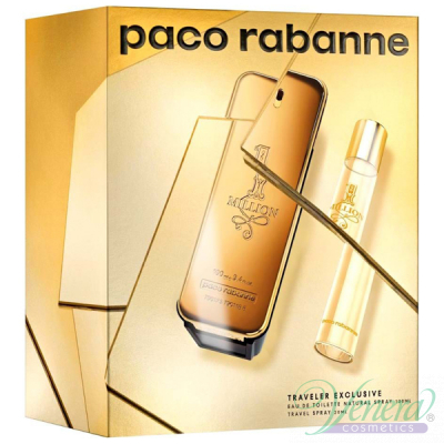 Paco Rabanne 1 Million Set (EDT 100ml + EDT 20ml) pentru Bărbați Seturi