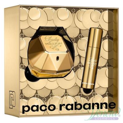Paco Rabanne Lady Million Set (EDP 50ml + EDP 10ml) pentru Femei