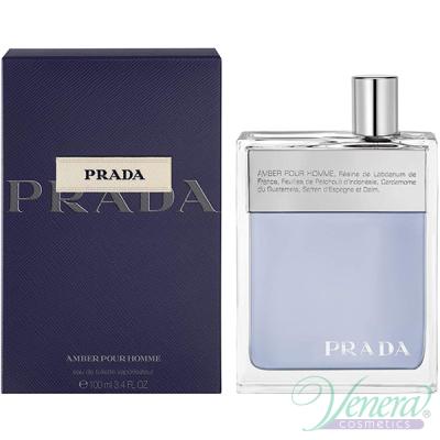 Prada Amber Pour Homme EDT 100ml pentru Bărbați Parfumuri pentru Bărbați