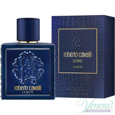 Roberto Cavalli Uomo La Notte EDT 100ml pentru Bărbați Parfumuri pentru Bărbați