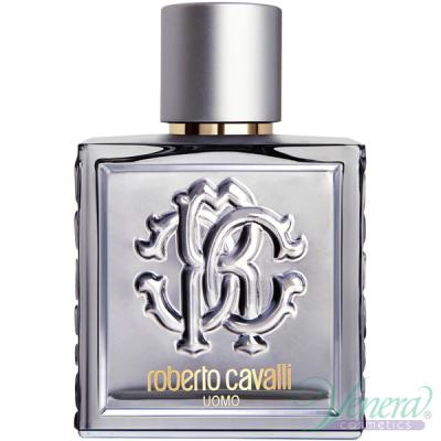 Roberto Cavalli Uomo Silver Essence EDT 100ml pentru Bărbați fără de ambalaj Men's Fragrances without package