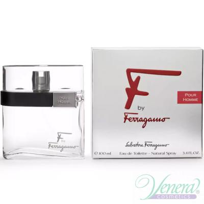 Salvatore Ferragamo F by Ferragamo Pour Homme EDT 100ml for Men Men's Fragrance