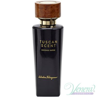Salvatore Ferragamo Tuscan Scent Incense Suede EDP 75ml pentru Bărbați și Femei produs fără ambalaj Unisex Fragrances without package