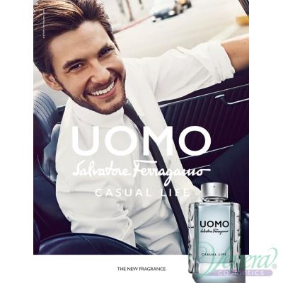 Salvatore Ferragamo Uomo Casual Life EDT 30ml pentru Bărbați Men's Fragrance