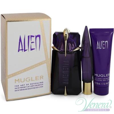 Thierry Mugler Alien Set (EDP 30ml + EDP 10ml + BL 50ml) pentru Femei Seturi Cadou