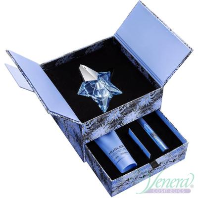 Thierry Mugler Angel Set (EDP 50ml + BL 100ml + Perfuming Pen 3g) pentru Femei Seturi