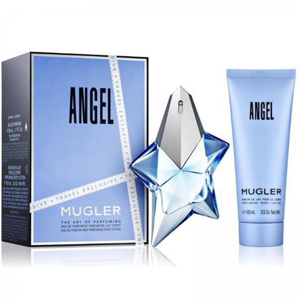 Thierry Mugler Angel Set (EDP 50ml + Body Lotion 100ml) pentru Femei