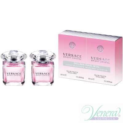 Versace Bright Crystal Set (EDT 30ml + EDT 30ml) pentru Femei Seturi