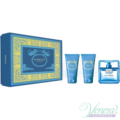 Versace Man Eau Fraiche Set (EDT 50ml + AS...