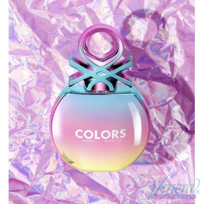 Benetton Colors de Benetton Holo EDT 80ml pentru Femei AROME PENTRU FEMEI