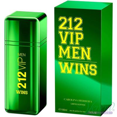 Carolina Herrera 212 VIP Men Wins EDP 100ml pentru Bărbați