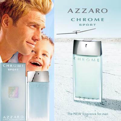 Azzaro Chrome Sport EDT 100ml pentru Bărbați Parfumuri pentru Bărbați
