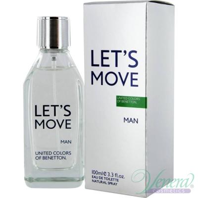 Benetton Let's Move EDT 40ml pentru Bărbați Parfumuri pentru Bărbați