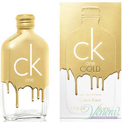Calvin Klein CK One Gold EDT 50ml pentru Bărbați and Women Women's Fragrance