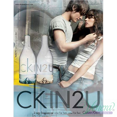 Calvin Klein CK IN2U EDT 100ml pentru Femei fără de ambalaj Products without package