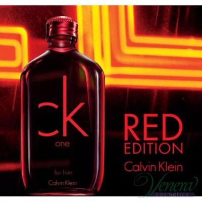 Calvin Klein CK One Red Edition EDT 100ml pentru Bărbați fără de ambalaj Products without package