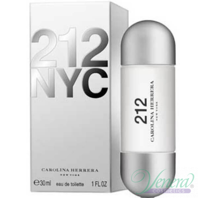 Carolina Herrera 212 EDT 30ml pentru Femei Women's Fragrance