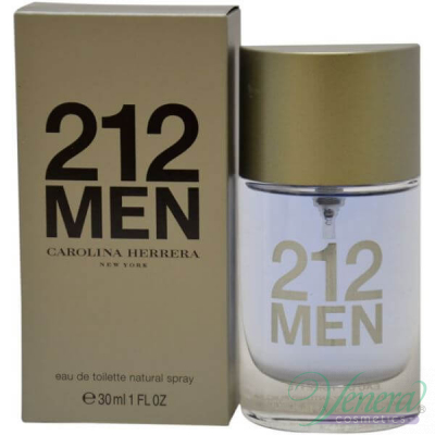Carolina Herrera 212 EDT 30ml pentru Bărbați Men's Fragrance