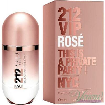 Carolina Herrera 212 VIP Rose EDP 50ml pentru Femei