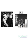 Carolina Herrera 212 VIP Men EDT 200ml pentru Bărbați Men's Fragrance